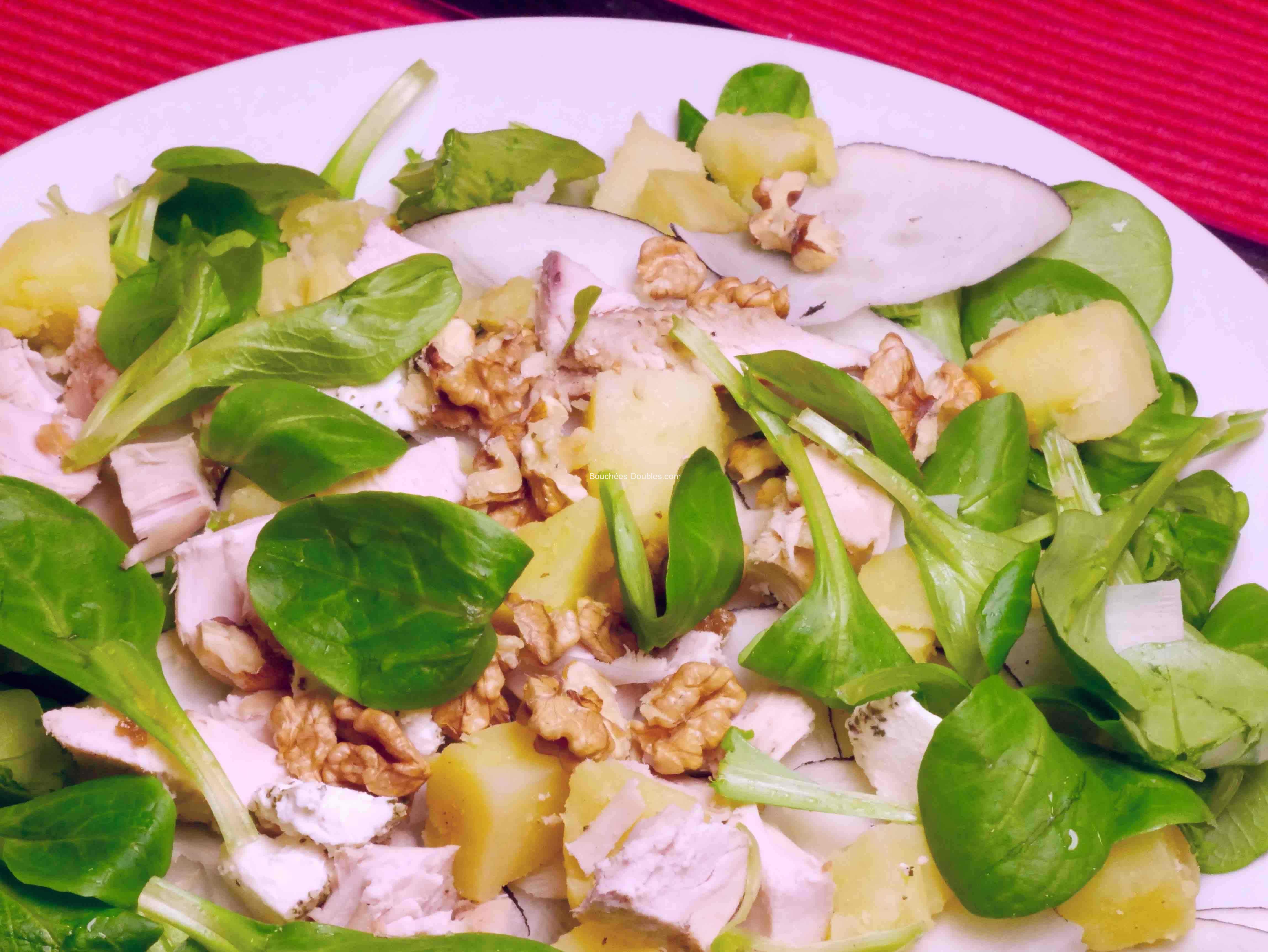 Salade composée hiver