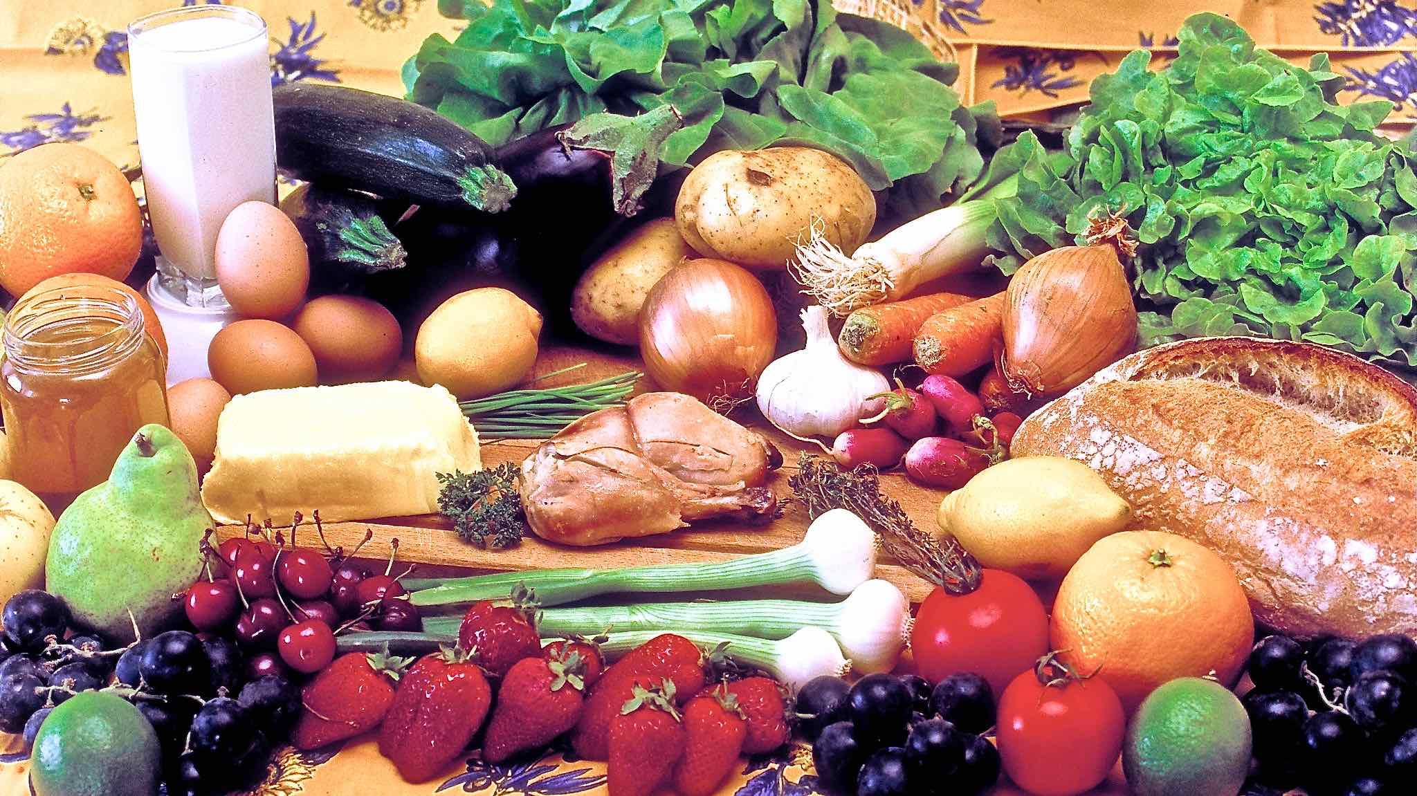 aliments divers