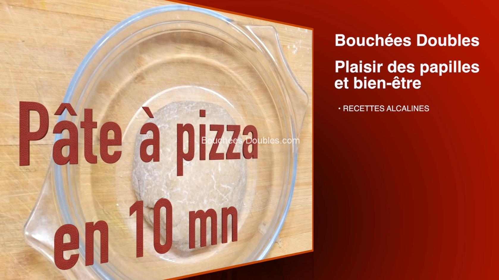 pâte à pizza facile en 10 mn