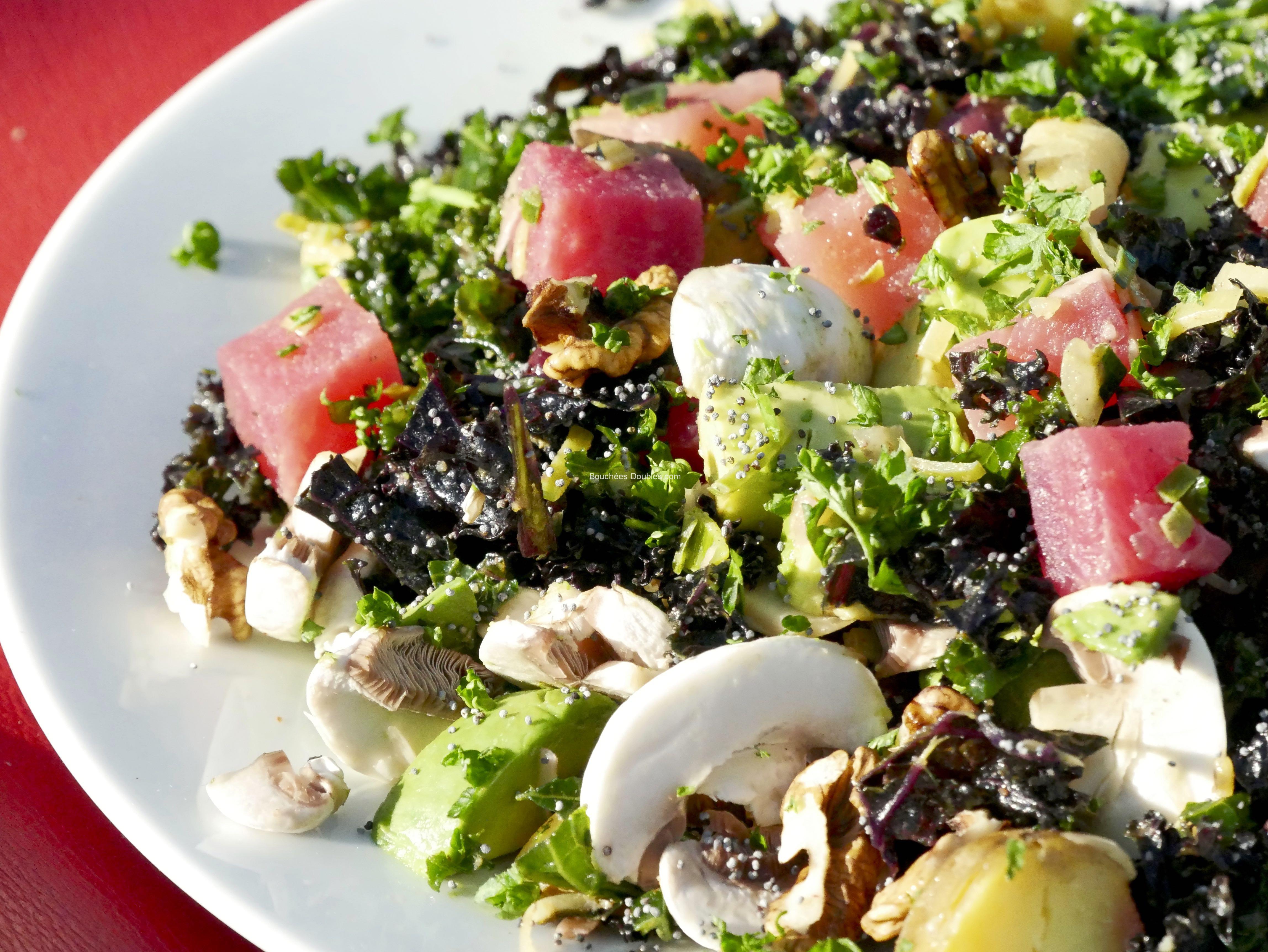 Salade alcaline santé et vitalité