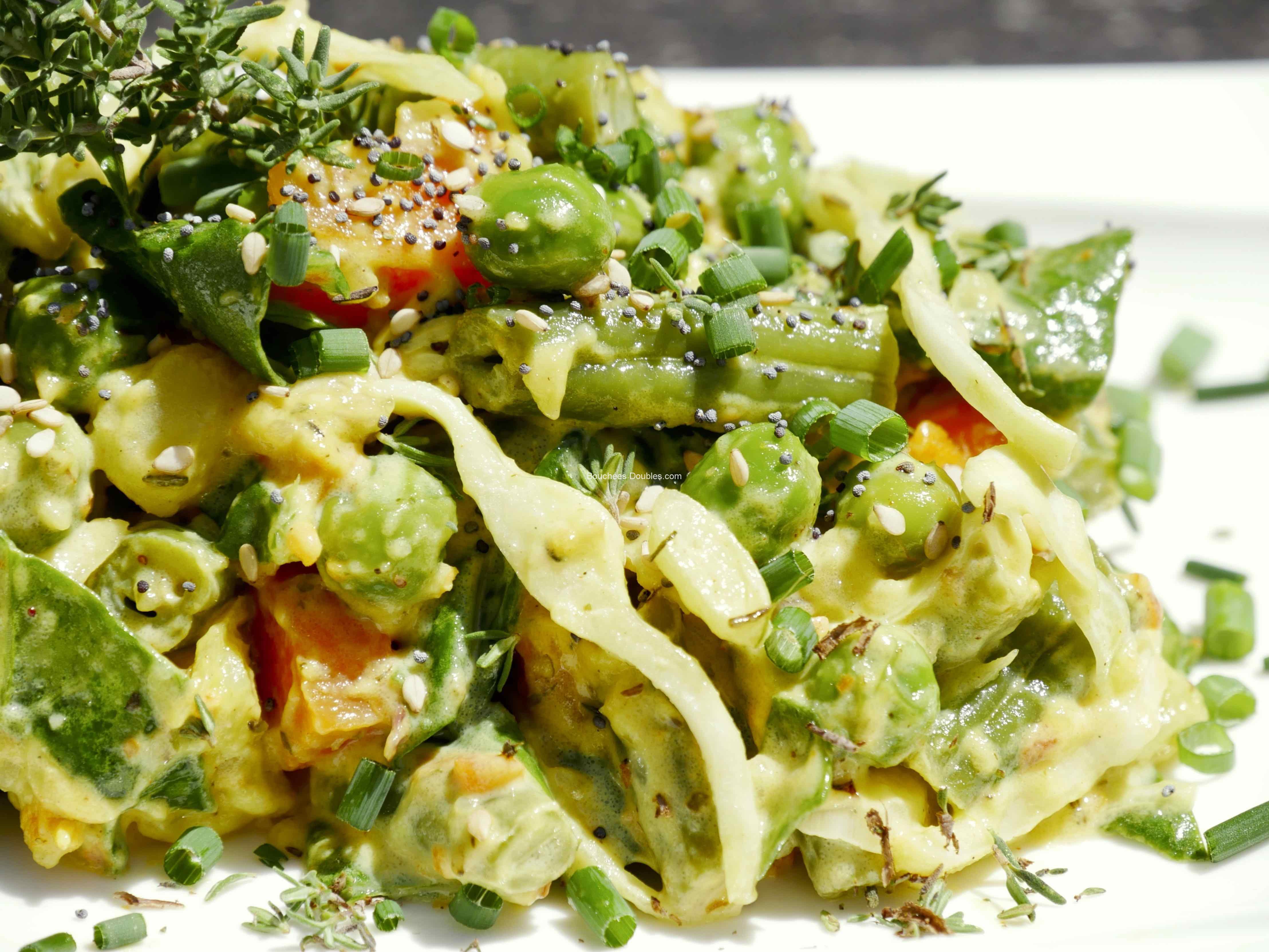 Recette alcaline 7 légumes au tahiné