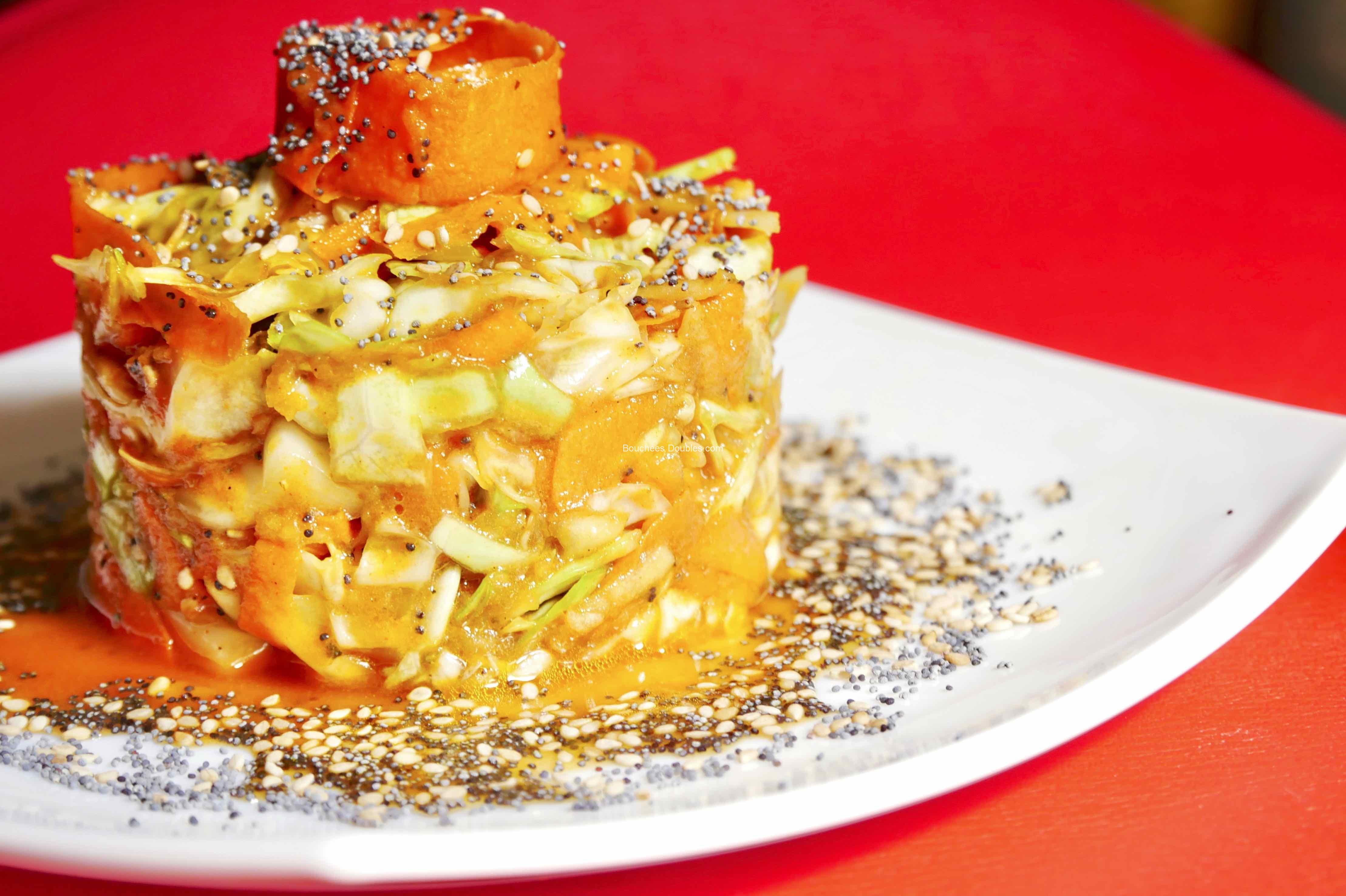 Recette alcaline - Gâteau de 3 légumes
