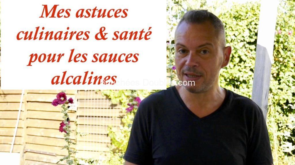 découvrez mes astuces culinaires et santé pour des sauces alcalines. Bonus : 25 idées de sauces saines et alcalines